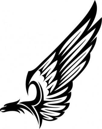 Eagle Totem Vector