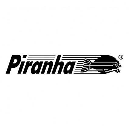 free vector Piranha