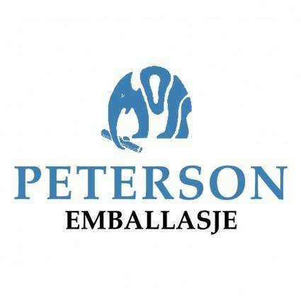 free vector Peterson emballasje