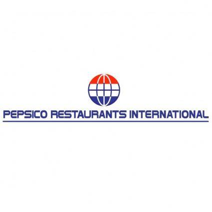 Pepsico restaurants international