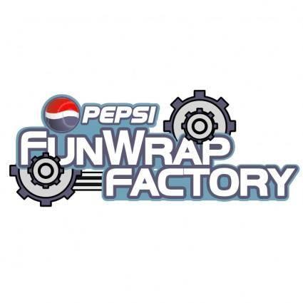 Pepsi funwrap factory