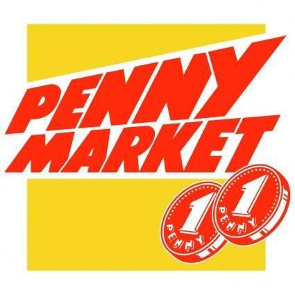 free vector Penny market