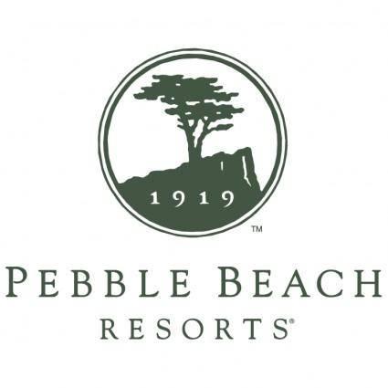 free vector Pebble beach resorts