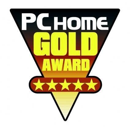 Pc home gold award