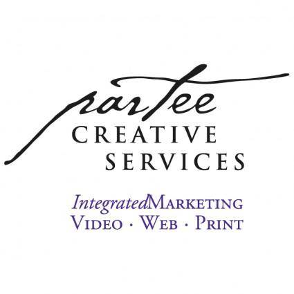 Partee creative services
