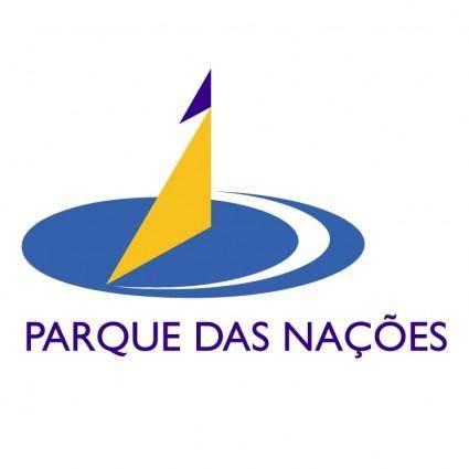 free vector Parque das nacoes