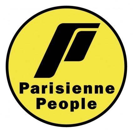 Parisienne people