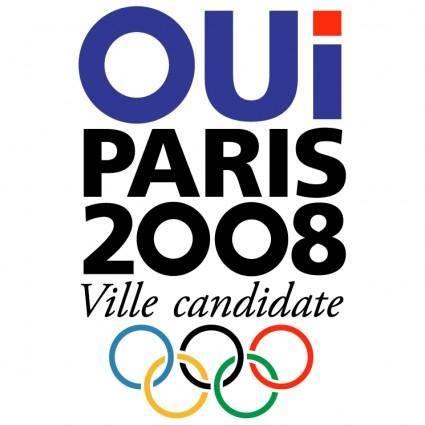 free vector Paris 2008