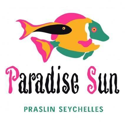 free vector Paradise sun