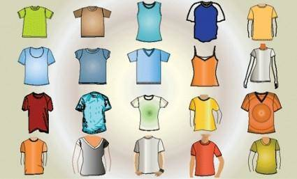 free vector Free Vector T-Shirt Template
