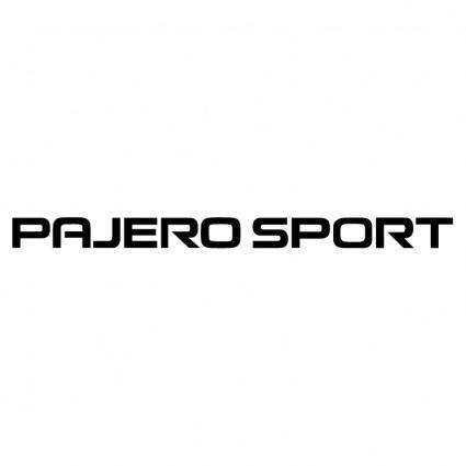 free vector Pajero sport