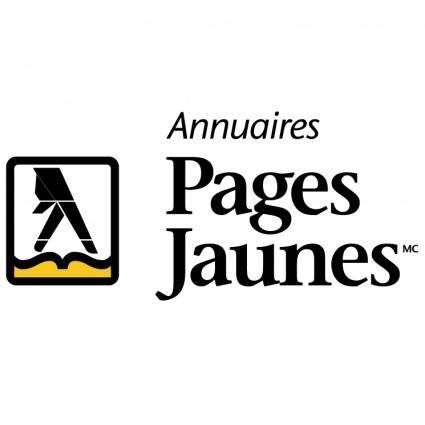 free vector Pages jaunes