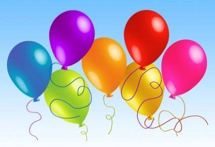 Beautiful Vector Balloons