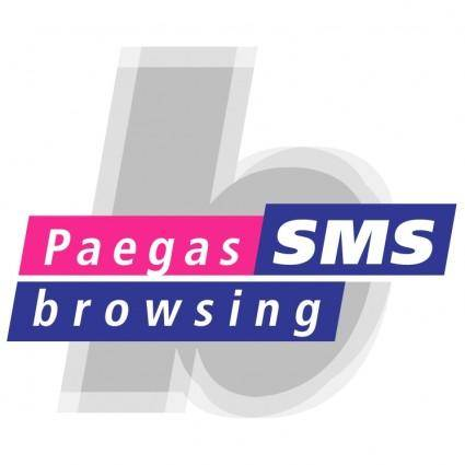 free vector Paegas browsing sms