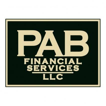 free vector Pab financial services