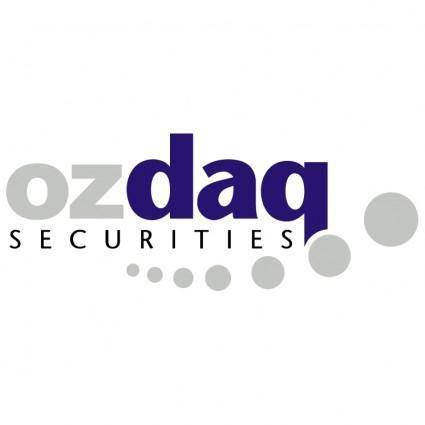 free vector Ozdaq securities