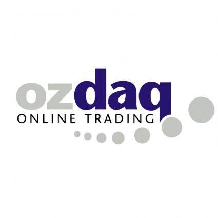 free vector Ozdaq online trading