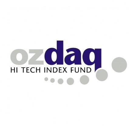 free vector Ozdaq hi tech index fund