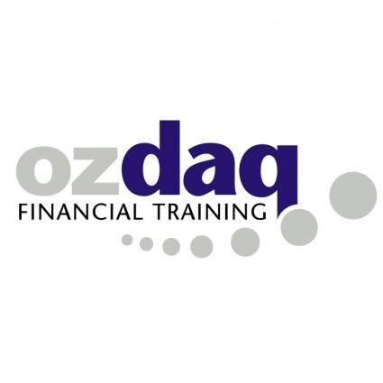 free vector Ozdaq financial training