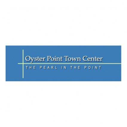 free vector Oyster point town center