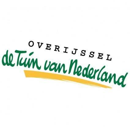 free vector Overijssel de tuin van nederland