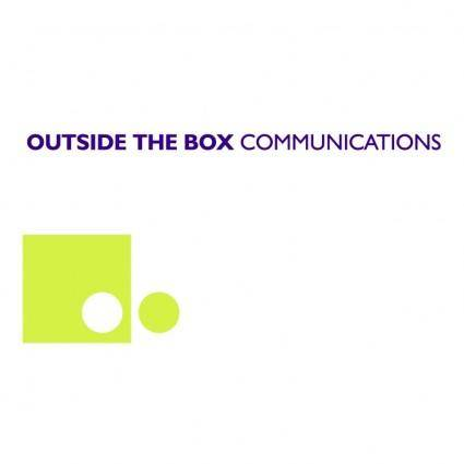 free vector Outside the box communications