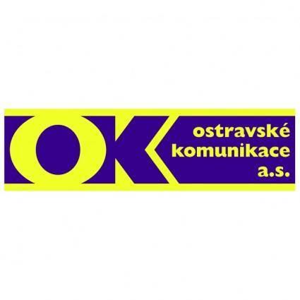 free vector Ostravske komunikace