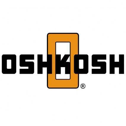 free vector Oshkosh truck