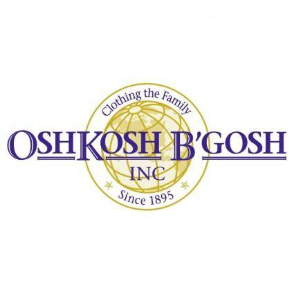 free vector Oshkosh bgosh