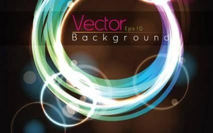 Vector Light Circles