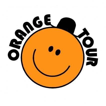 free vector Orange tour