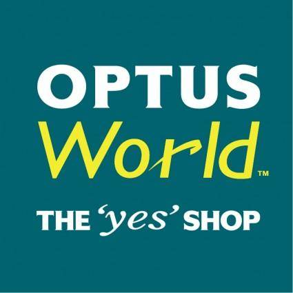 free vector Optus world