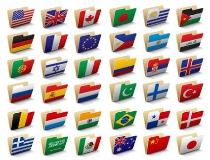 Vector Flag Folders