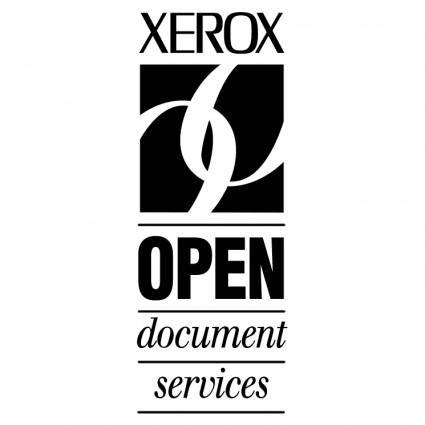 Open document services