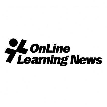 free vector Online learning news