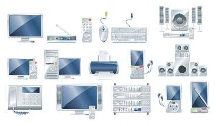 Vector Electronic Products and Gadgets