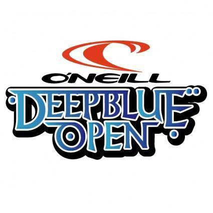 free vector Oneill deep blue open