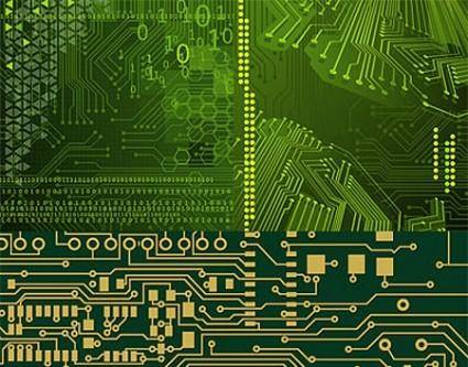 free vector Vector Printed Circuit Board