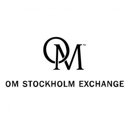 free vector Om stockholm exchange
