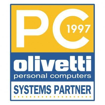 free vector Olivetti pc