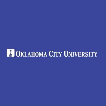 free vector Oklahoma city university 0