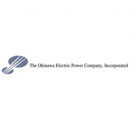 free vector Okinawa electric power