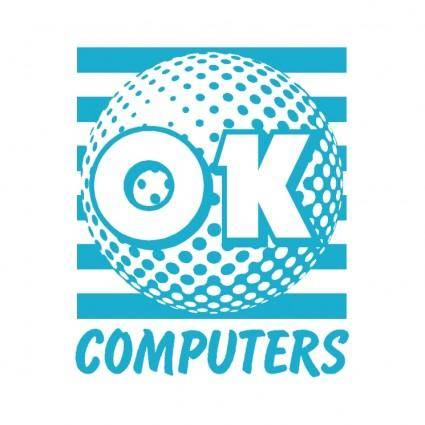 free vector Ok computers