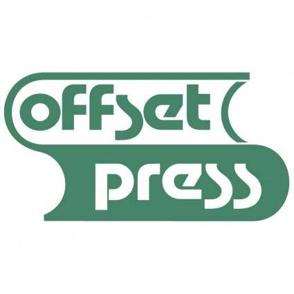 free vector Offset press