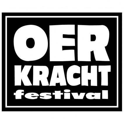 free vector Oerkracht festival
