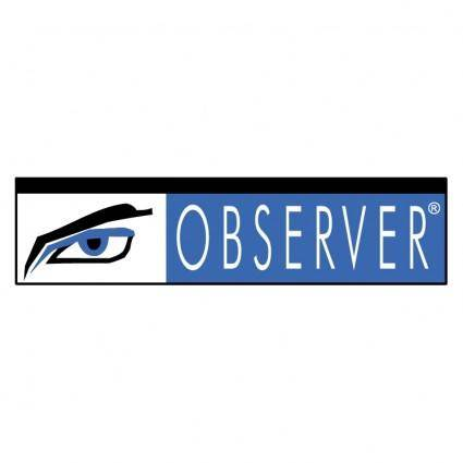free vector Observer