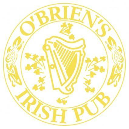 free vector Obriens irish pub