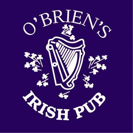 free vector Obriens irish pub 0