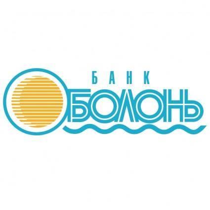 free vector Obolon bank