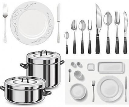 free vector Vector Kitchen Utensils